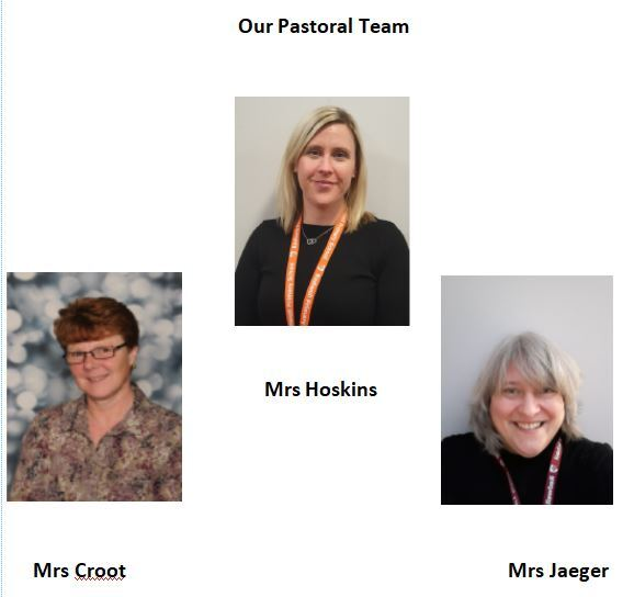 our pastoral team